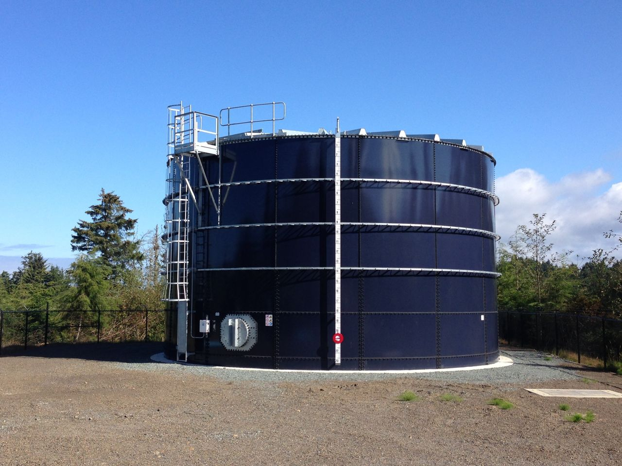 Cape Meares Has New Water Tank Oceanside Water District